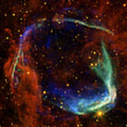 Oldest Recorded Supernova Poster