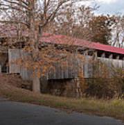 Oldtown Covered Bridge Poster
