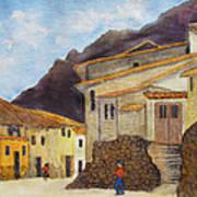 Ollantaytambo Poster