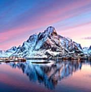 Olstind Lofoten Islands Norway Poster