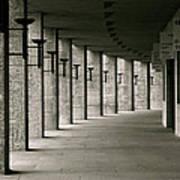 Olympiastadion Berlin Corridor Poster