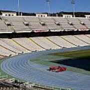 Olympic Stadium Barcelona Poster
