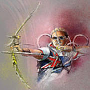 Olympics Archery 01 Poster