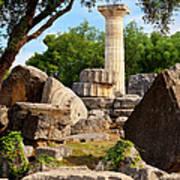 Olympus Ruins Poster