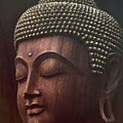 Om Mani Padme Hum  - Buddha Poster