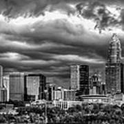 Ominous Charlotte Sky Poster by Chris Austin