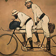 On A Tandem Poster