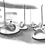 On Bumper Cars Poster