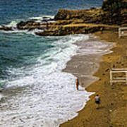 On The Beach - Dubrovnic Poster