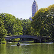 On The Pond - Central Park Poster