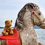 On White Horses Snow White Horses Let Me Ride Away Poster
