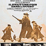 Once Upon A Time In The West, Aka Il Poster