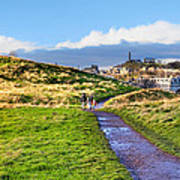 One Golden Day In Edinburgh's Holyrood Park Poster