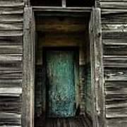 One Room Schoolhouse Door - Damascus - Pennsylvania Poster