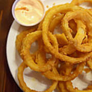 Onion Rings Poster by Kay Pickens
