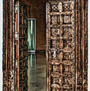 Open Door By Diana Sainz Poster