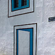 Open Door On Avenida Reboucas Poster