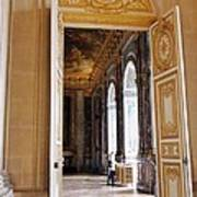 Open Doors At The Palace Of Versailles  Poster
