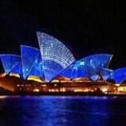 Opera House Sydney Australia Poster