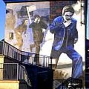 Derry Mural Operation Motorman  Poster