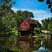 Opie's Grist Mill Poster