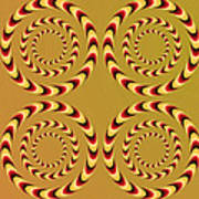 Optical Ilusions Summer Spin Poster