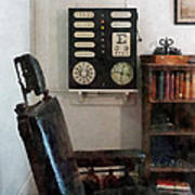 Optometrist - Eye Doctor's Office With Eye Chart Poster