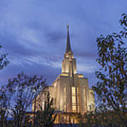 Oquirrh Mountain Temple II Poster
