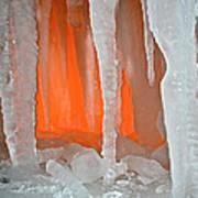 Orange Cave Poster