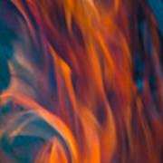 Orange Fire Poster
