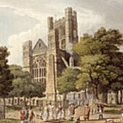 Orange Grove, From Bath Illustrated Poster