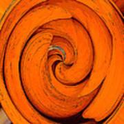 Orange Peal Poster