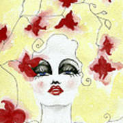 Orchid Lady Poster