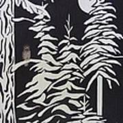 Oregon Forest Poster by Estephy Sabin Figueroa