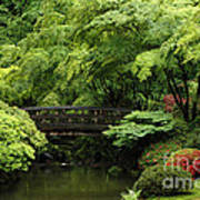 Oregon Japanese Garden  Poster