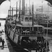 Oregon Steamboat, C1906 Poster