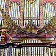 Organ In Cordoba Cathedral Poster by Artur Bogacki