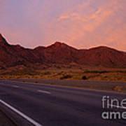 Organ Mountain Sunrise Highway Poster