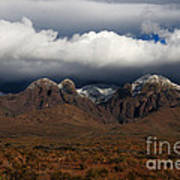 Organ Mountains New Mexico Poster