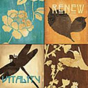Organic Nature 4 Poster by Debbie DeWitt