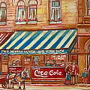 Original Bank Notre Dame Street Poster