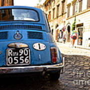 Original Fiat Poster by Arthur Hofer