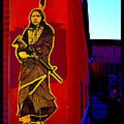 Original Homeland Security Santa Fe Poster