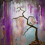 Original Painting Expressionist Contemporary Tree Art Poster