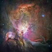 Space Hollywood 2 - Orion Nebula Poster