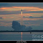 Orion Test Flight Poster