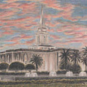 Orlando Florida Lds Temple Poster