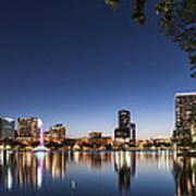 Orlando Skyline Poster