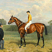 Ormonde Winner Of The 1886 Derby Poster by Emil Adam