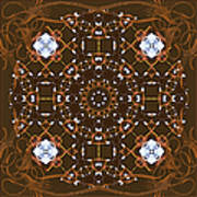 Ornamental Zen Tranquility Poster